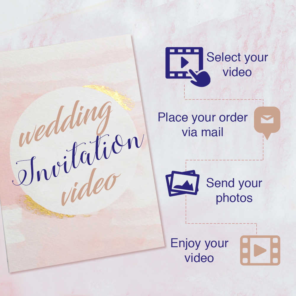 wedding invitation video in Delhi